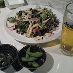 6332575 - 付出し、サラダ(香コース)、生ビール