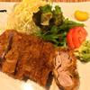 かつきち - 料理写真:ヒレかつ(小鉢、ご飯、スープ付) 1200円