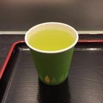 新杵 みちくさ餅 - お茶(冷)(無料)