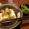 串揚げ ひかりや - 料理写真:セットの冷奴と枝豆