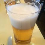オステリア・ルッカ - ビール