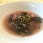 オステリア・ルッカ - 野菜のスープ