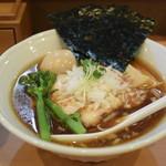 中華蕎麦 はる - 特製煮干香味蕎麦1000円