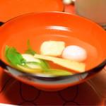 63323713 - 「おひれ」をどうぞ!!ここから始まる卓袱料理