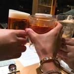 63324447 - カンパイ‼️‼️(๑˃̵ᴗ˂̵)あたしは 「梅酒」(//∇//)