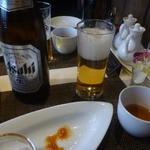 施家菜 - ビールを頂きました