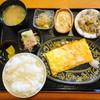 いろは - 料理写真:めんたいだしまき定食 740円(税別)