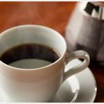 博多炉端 魚's男 - ホットコーヒーもご用意しておりますので、最後のデザートと一緒にごゆっくりお楽しみください♪