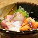 日本料理 とくを - お造り盛合せ