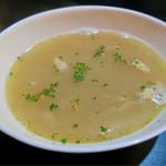 リオブール - ランチプレートのセットのスープ