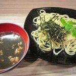 環月 - つけめんセット(丼・つけめん・汁物・漬物・サラダ)