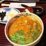 千寿亭 - トマトみそにゅうめん 1,050円