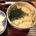 千寿亭 - 天ぷらにゅうめん 1,050円