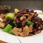 63330390 - 辣子鶏丁(鶏肉と唐辛子炒め)
