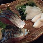 庄司 - 食べ比べシメサバと炙りシメサバ