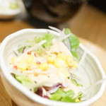 えりも亭 - サラダ
