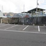 和 dining 清乃 - 店前の駐車場