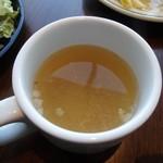 サンクス オンザ テーブル. - スープ