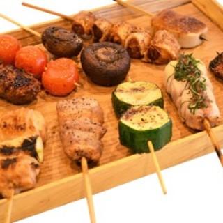 『健』の鶏肉は福岡県朝倉育ちの『古処鶏(こしょどり)』を使用