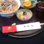 翠松閣 - 上牛丼定食