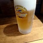 麺や 幸村 - 生ビール