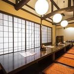 近江町食堂 - 白雲(最大18名)掘りごたつのお部屋です