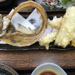 まるさん松本 - 太刀魚・半身は天ぷらで