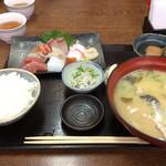 まるさん松本 - お造り定食