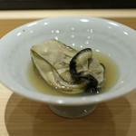 鮨 しゅん輔 - 岩手県産 蒸し牡蠣