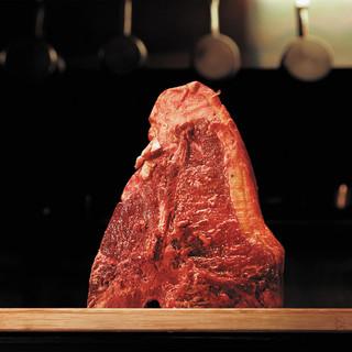 BUTCHERの熟成肉。