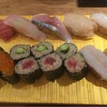 寿司 高瀬 - すみれ1300円税込