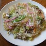かどや食堂 - 料理写真:皿うどん太麺@600