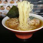 中華そば壱 - 麺