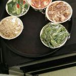 圍爐 - 小菜(1皿60元)