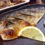 福浦漁港 みなと食堂 - 地サバ焼き