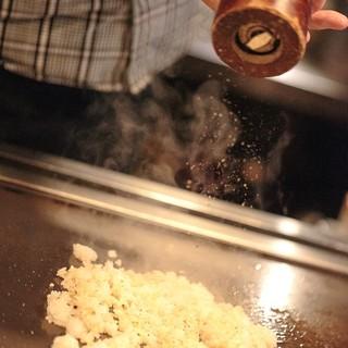 美味しい鉄板焼をリーズナブルに