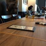 尼崎イタリアンVin Vin BAL - 大人数で予約したらテーブルを組んでくれてました♪