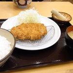 とんかつ坂井精肉店 - とんかつ定食