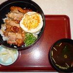 和食さと - 料理写真:若鶏の照り焼き丼(724円)