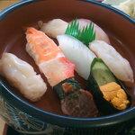 すし処さき田 - 日替わりランチ(寿司)