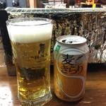 珍牛 - 発泡酒  180円