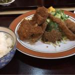 とんかつ和幸 - 和光定食750円