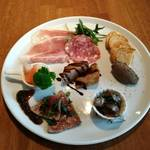 窯焼きビストロ 博多 NUKU NUKU - お肉の前菜盛り合わせ