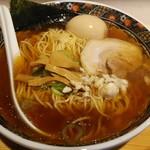 鮮魚麺 海里 - 鮮魚醤油らーめん。
