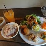 カフェカシータのよこ - 料理写真:2017.02