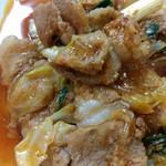 笑顔の豚 - 高コスパ(^^♪前菜も付いて600円・豚肉しっかりプルコギ定食