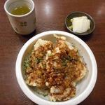 味処ふる川 - ミニちくわ丼430円