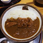 道の駅 ウッディー京北 - 料理写真:カツカレー