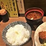 Kushiagedokoromikushi - ご飯はコシヒカリ