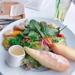 ザファームカフェ - サラダプレート